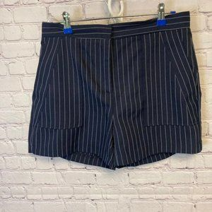 Super cute striped dressy shorts size Large